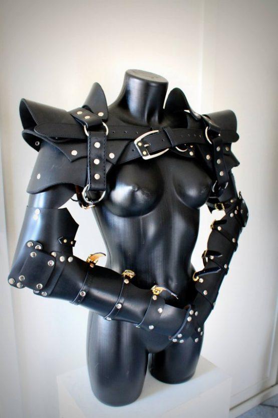 Fantasy armor arms