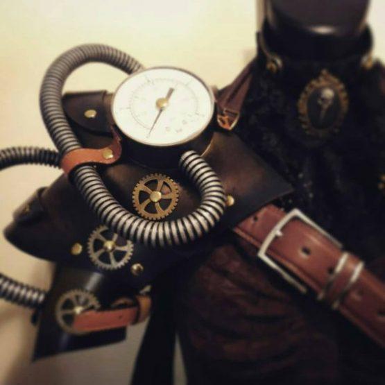 Steampunk Pauldron