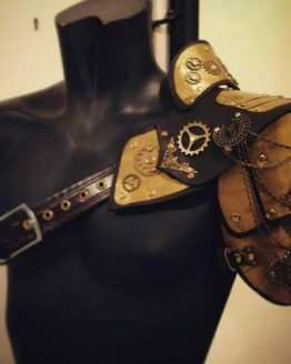 steampunk shoulder