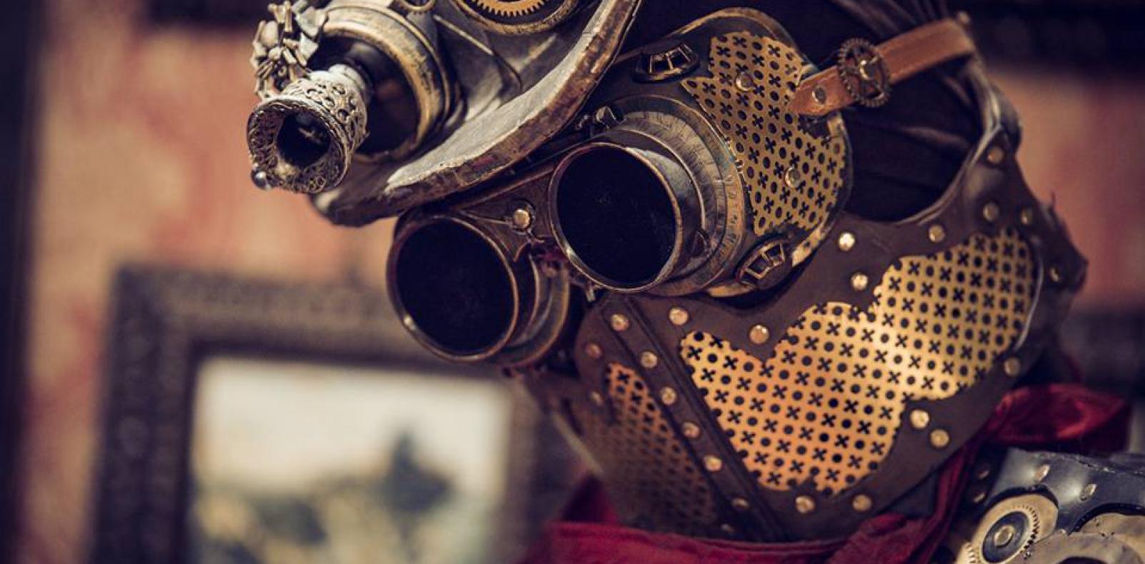 steampunk boiler mask