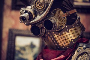 steampunk boiler mask