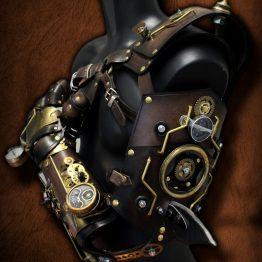 steampunk armor arm