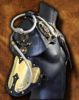 steampunk armor shoulder