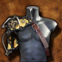 steampunk armor shoulder
