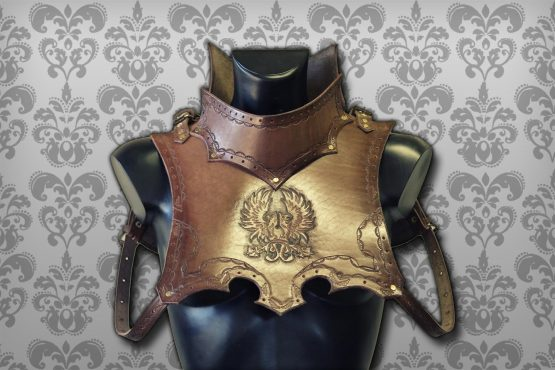 Leather Medieval Gorget