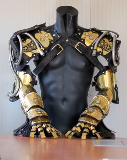 Steampunk Victorian armors arm