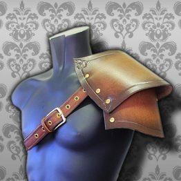 soldier medieval pauldron
