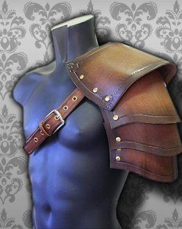warrior medieval pauldron