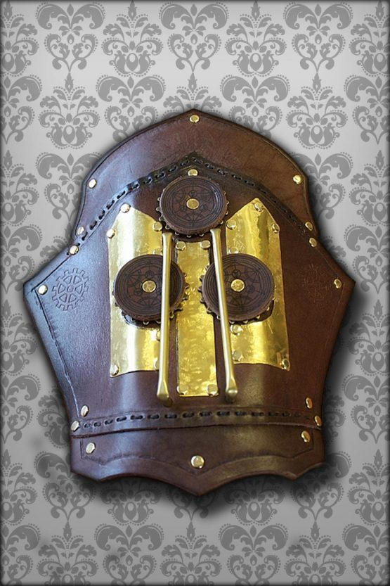 Steampunk arm guard