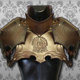 medieval gorget set