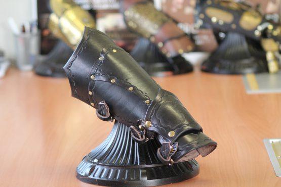 Steampunk Victorian bracer