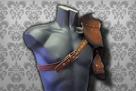 medieval pauldron